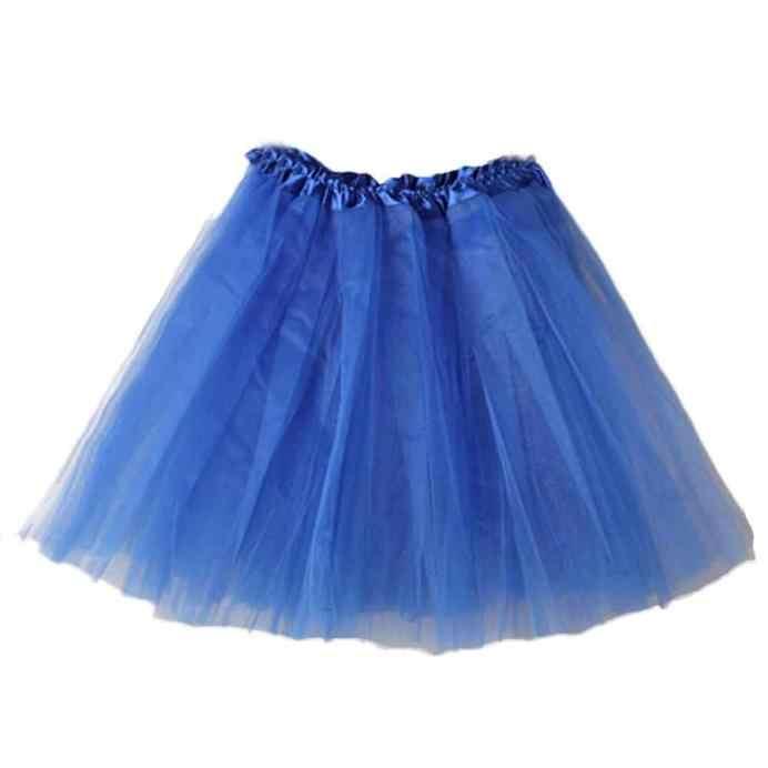 CHAMSGEND Women Ballet Tutu Layered Organza Lace Mini Skirt Fashion Tulle Skirt Pleated Tutu Skirts Simple Tulle Skirt Oc10  40