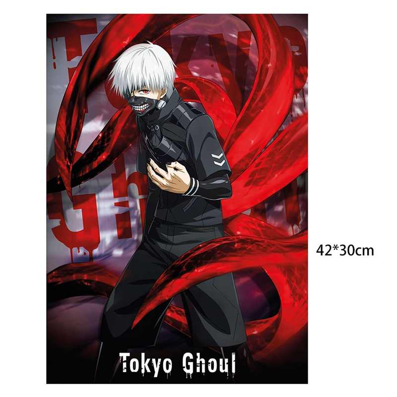 1 Pcs Hot Koop Tokyo Ghoul Kaneki Ken Anime Maxi Manga Wall Poster 42*30 cm Home Decoratie wall Art