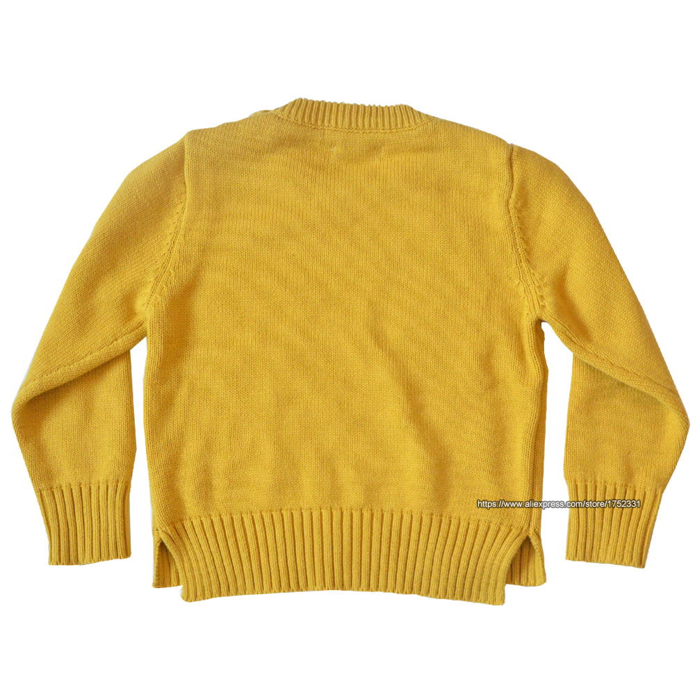 QUIKGROW-Thick-Warm-Baby-Boy-Girl-Sweater-Stylish-Yellow-Long-Sleeve-Cute-Puppy-Dogs-Paws-Pullover-Jumpers-Knitwear-YM07MY-1
