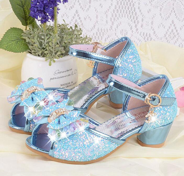 Nieuwe zomer meisjes prinses sandalen kinderschoenen kinderen meisjes - Kinderschoenen - Foto 2