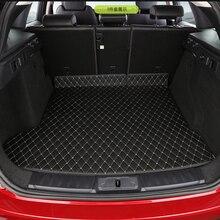 Для Jaguar F-PACE 1 шт. Авто специальная магистральных коврики Прочный ботинок ковры автомобильные Аксессуары Укладка интерьера коврики