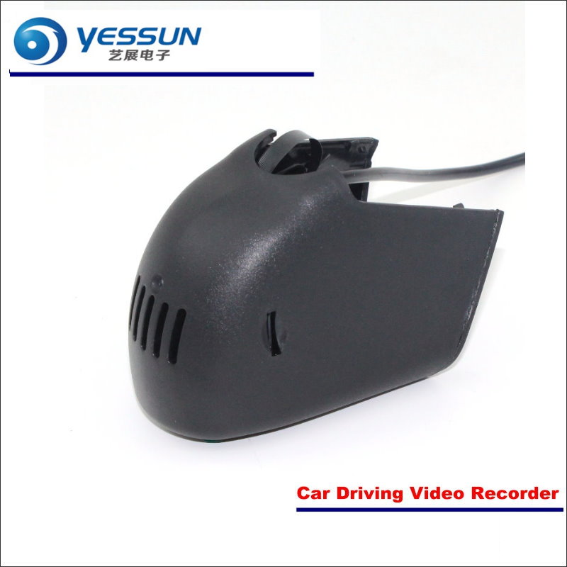 YESSUN Car Front Camera For Audi A6 High Edition DVR Driving Video Recorder Black Box Dash Cam Head Up Plug OEM 1080P WIFI цена 2017