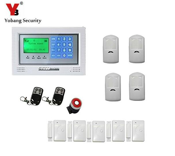 Yobang Security Touch LCD Screen PSTN SMS Alarm System Home Security GSM alarm system Quad-band Wireless alarm panel yobang security touch lcd screen pstn sms alarm system home security gsm alarm system quad band wireless alarm panel