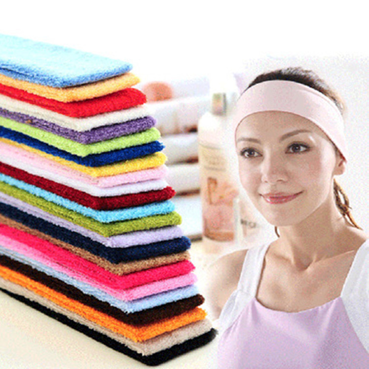 Sweatband Headband Elasticity Sweat Bands Stretch Head Hair Band Sports Safety Yoga Basketball Gym Sport for Men and Women