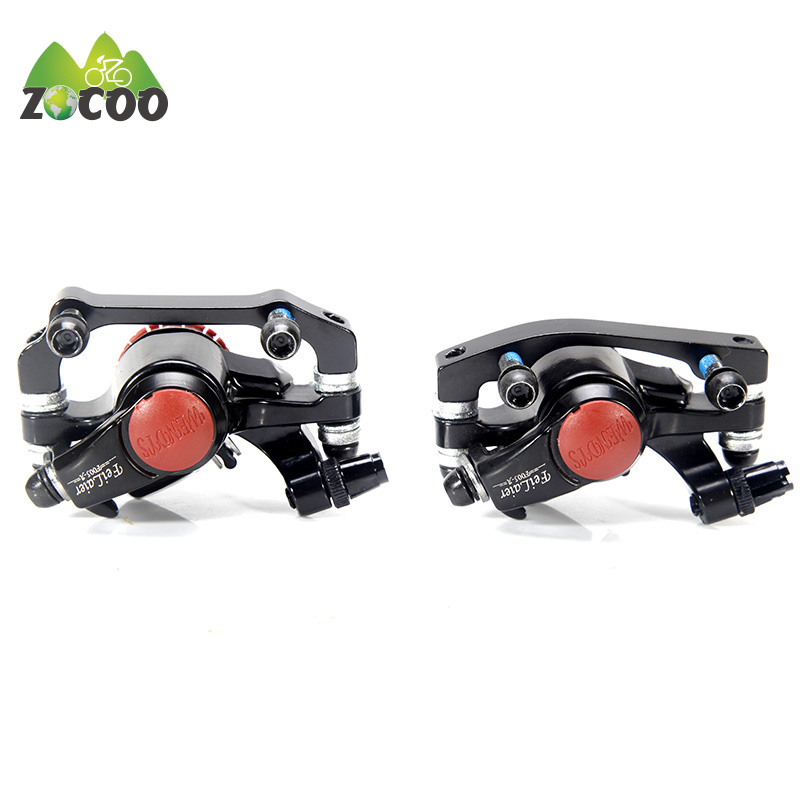 купить Zocoo Bike Road Bicycle Avid BB5 Bicycle Disc Brake Mechanical Caliper Front Rear Disk Brake pinza de freno de bicicleta 1 pair по цене 1264.07 рублей