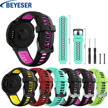 Sport Strap for Garmin Forerunner 220 230 235 630 620 735XT Watch With Tools Silicone Wrist Band