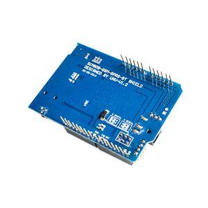 Image 3 - عالية الجودة SIM808 جي بي آر إس/جي إس إم + نظام تحديد المواقع درع 2 في 1 درع جي إس إم جي بي آر إس مجلس التنمية SIM808 وحدة لاردوينو