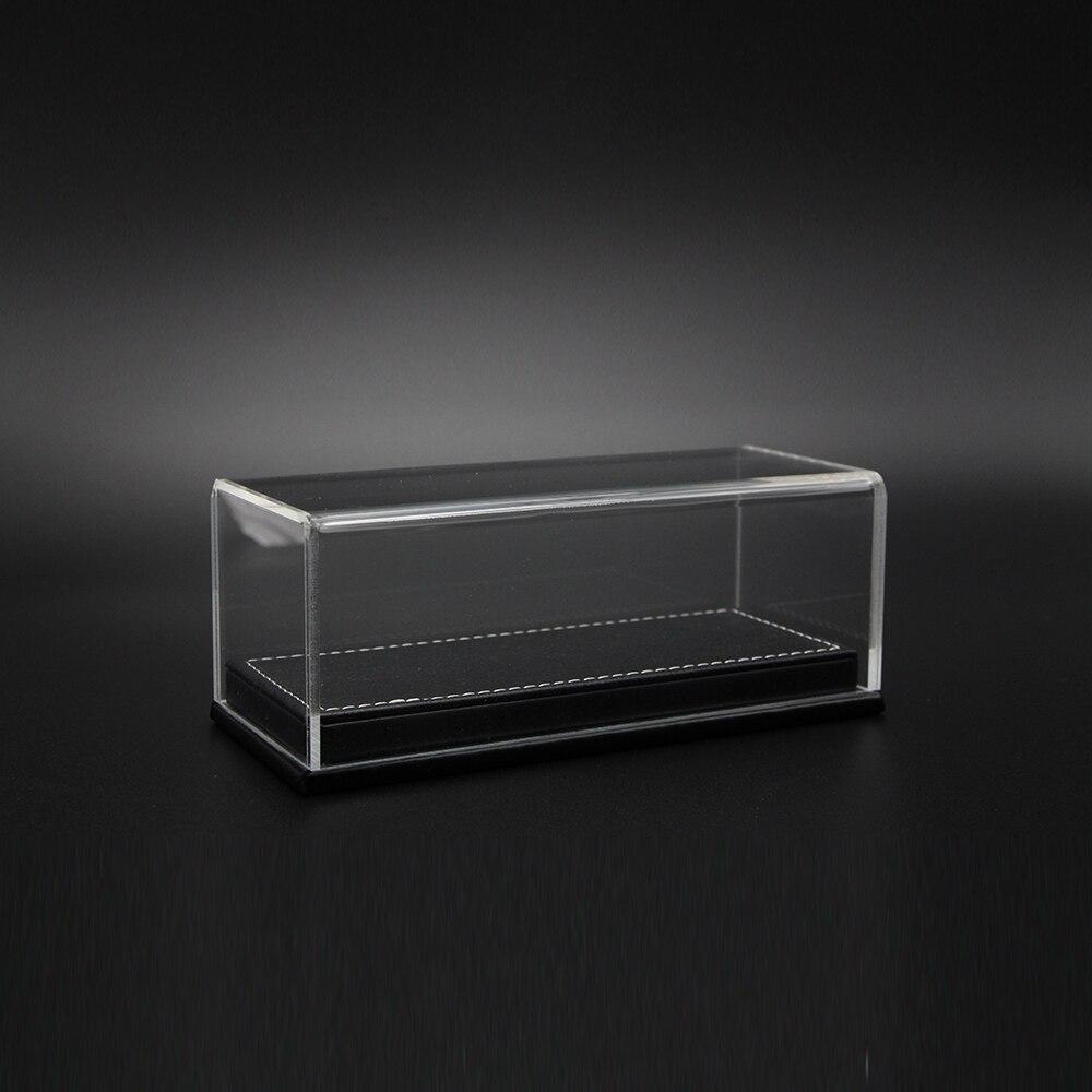 dust cover for 1:43 car model base car models display box acrylic