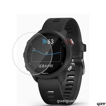 Screen-Protector-Film Garmin for Forerunner 245/Tempered-glass/9h/.. Smartwatch July-22