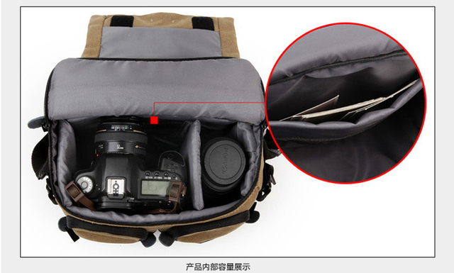 National Geographic NG W2140 Professional DSLR Camera Bag Universal bag with rain cover 1