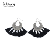 Artilady fashion boho tassel earring vintage bohemia women jewelry new year gift
