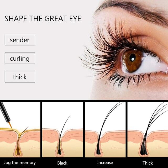 FEG Eyelash Enhancer 100% Original Eyelash Growth Treatment Serum Natural Herbal Medicine Eye Lashes Mascara Lengthening Longer 3
