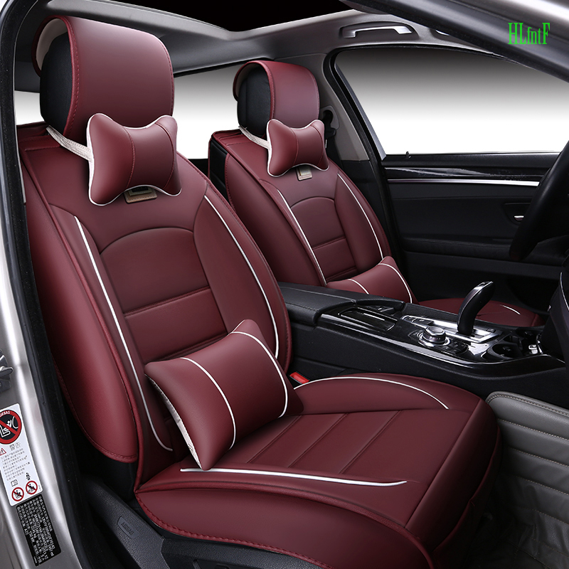 luxury Leather Car Seat Cover For Nissan Qashqai Note juke tiida x-trail car accessories car-styling Front and Rear seat cushion