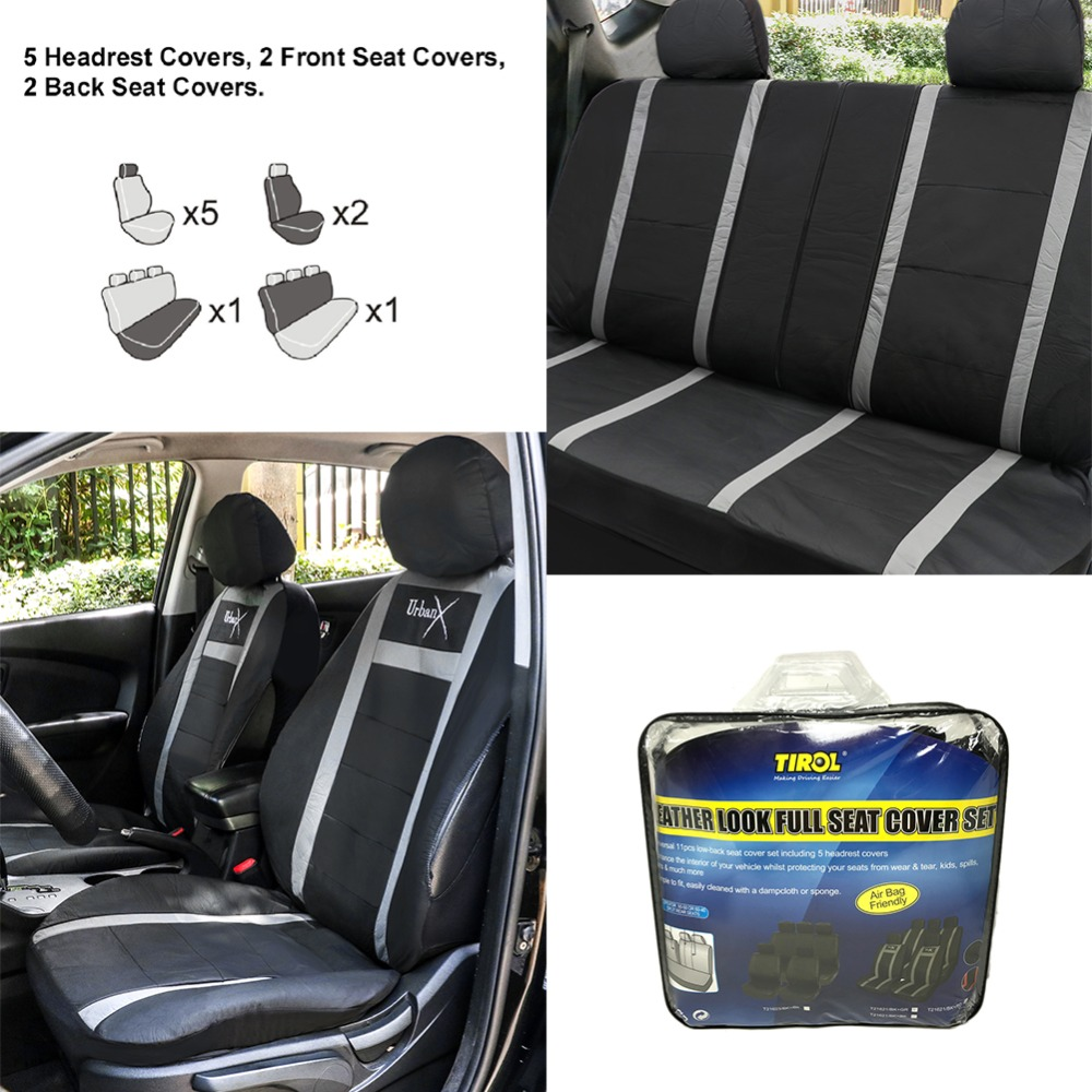 Brilliant Us 50 5 Tirol T21621A Universal Pu Car Seat Cover Imitation Leather 11 Pcs Front Rear Seat Cushion Styling Cover Free Shipping In Automobiles Seat Machost Co Dining Chair Design Ideas Machostcouk