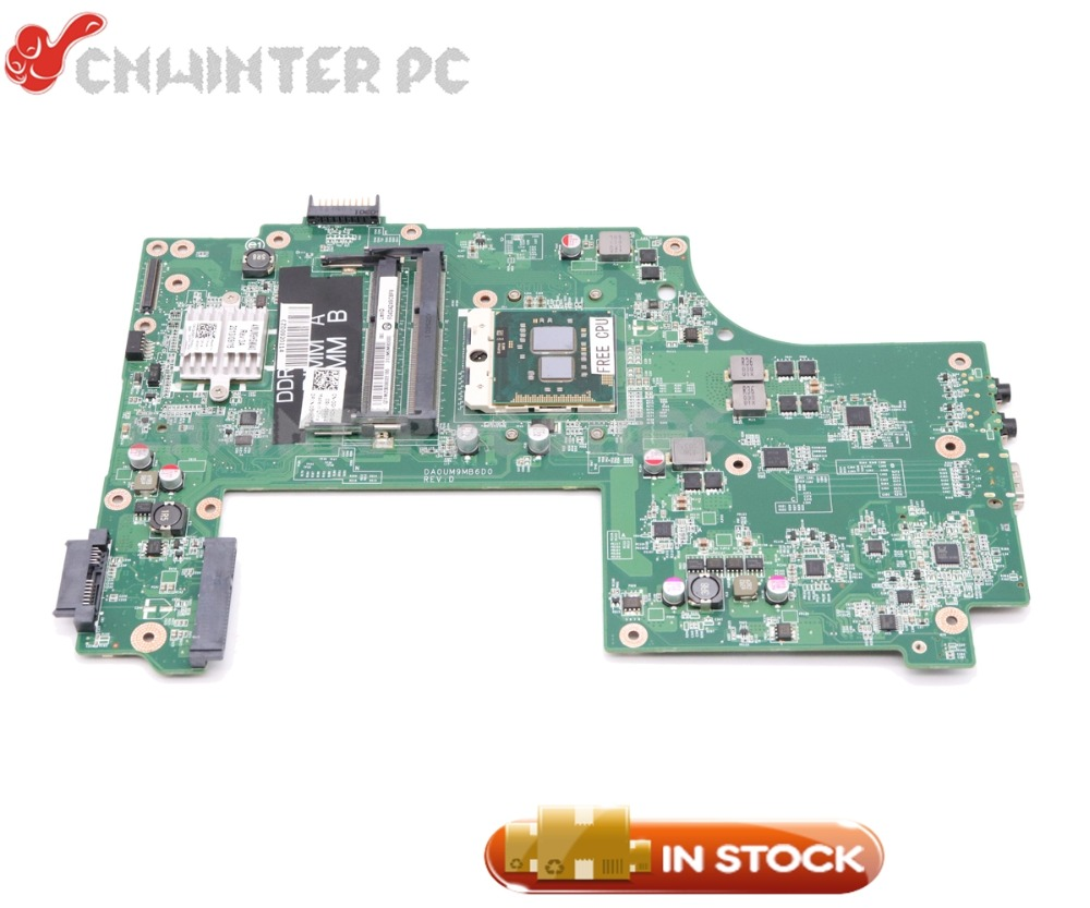 NOKOTION CN-0GKH2C 0GKH2C GKH2C MAIN BOARD For Dell inspiron N7010 Laptop Motherboard DA0UM9MB6D0 HM57 DDR3 Free cpu
