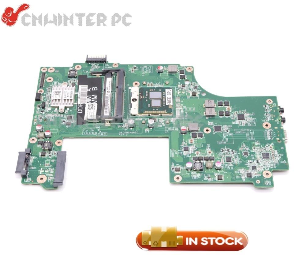 NOKOTION CN-0GKH2C 0GKH2C GKH2C MAIN BOARD For Dell Inspiron N7010 Laptop Motherboard DA0UM9MB6D0 HM57 DDR3 Free Cpu