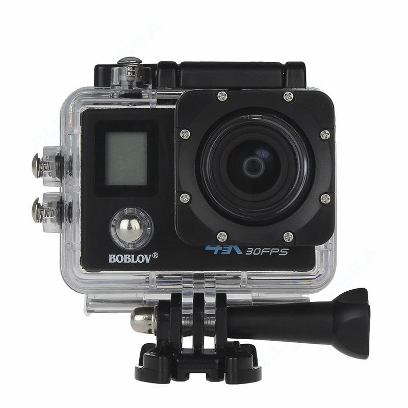 Free shipping!Boblov X3 2 Dual Screen LCD Wifi Sports Action Camera 4K 1080P 60fpsp 16MP Camera free shipping 4k hd wifi sports action camera 2 0 lcd 16mp extra 2 batteries 32gb tf card