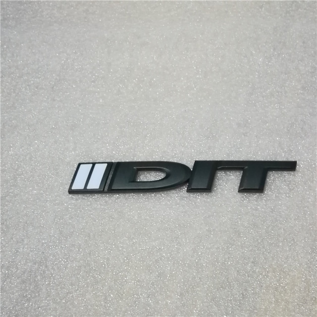Universal 1 PCS 3D Excellent Smooth Glossy Metal Badge DIT Emblem Badge Sticker For Subaru Forester BRZ WRX STI Porsche
