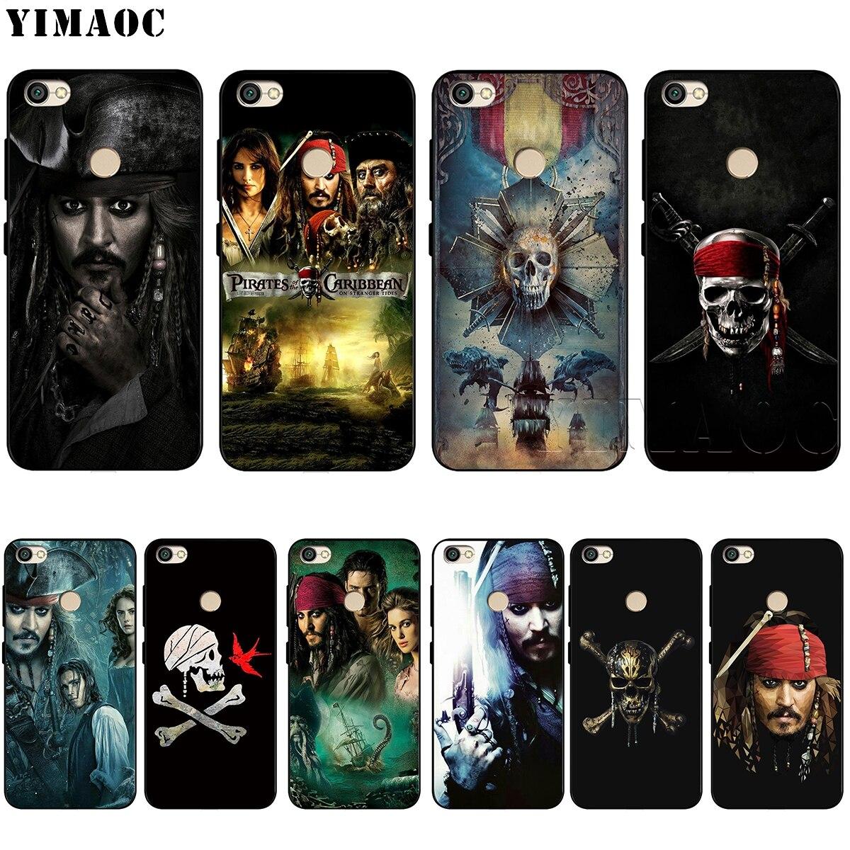 YIMAOC Pirates Of The Caribbean Soft Silicone Case for Xiaomi Redmi Note 4 4X 4A 5 5A 6 MI A1 mi6 Prime Plus