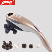 PULI Body Massager Dolphin Electric Vibration Massage Stick Neck Waist Cervical Vertebra Beauty Health Care Massage Relax Hammer