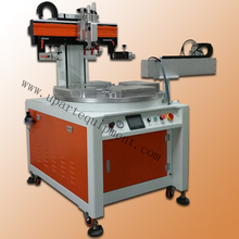 Precision 4 stations conveyor automatic Mobile phone touch screen printing machine