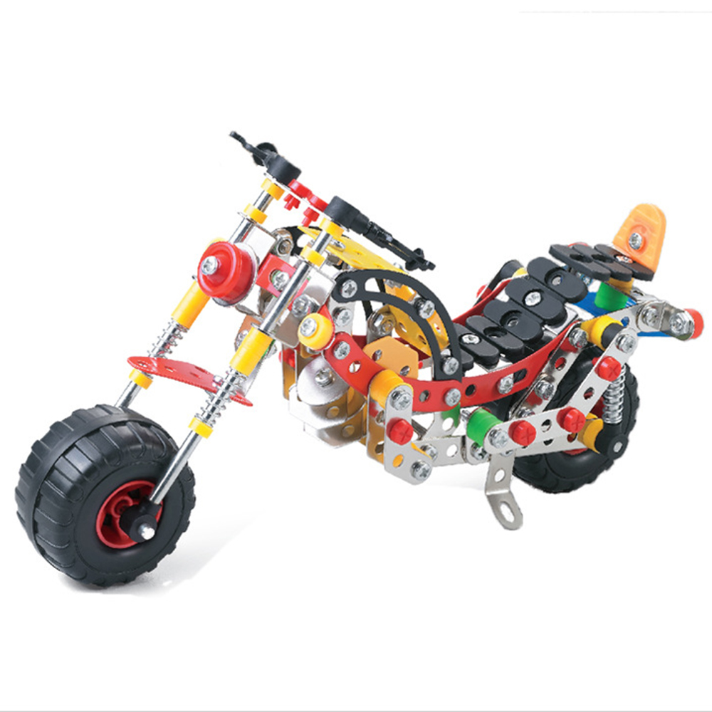 High Quality New Year Gift for Chidren 257 PCS/set Model of Motorbike Intelligence Modeling Building Blocks Toys