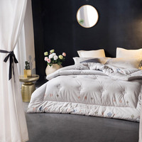 Хлопковые зимние одеяла полный размер взрослых постельное белье king size стеганые одеяла One Piece Бесплатная доставка