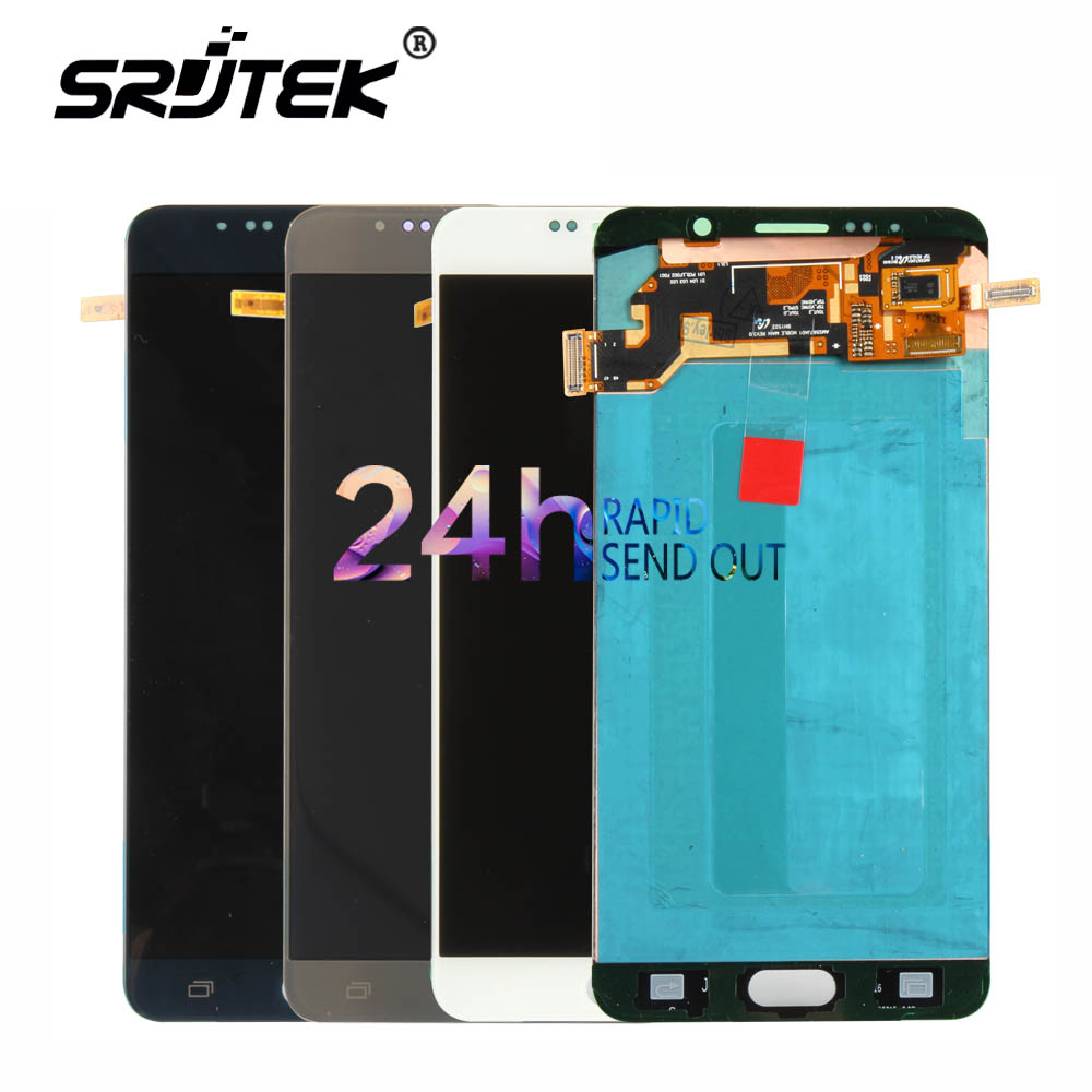 Warranty 5.7'' Super AMOLED LCD for SAMSUNG Galaxy Note 5 LCD Display Note5 N920A N9200 SM-N920 N920C Touch Screen Digitizer