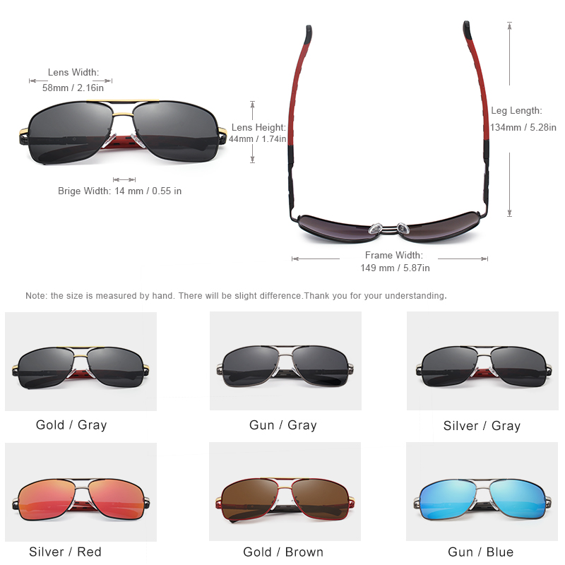 KINGSEVEN 2019 Brand Men Aluminum Sunglasses HD Polarized UV400 Mirror Male Sun Glasses Women For Men Oculos de sol N724 2