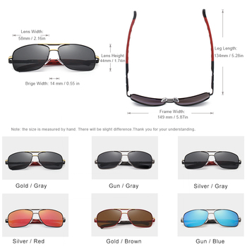 Aluminum Polarized UV400 Glasses  1