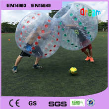 outdoor team games buddy bumper ball for adult/inflatable human soccer bubble ball for football/bumper ball