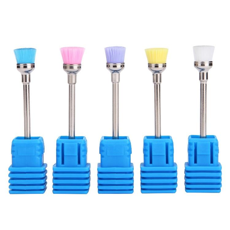 1 Pieza Cerámica Brocas Para Uñas Limpiador De Brochas Máquina Eléctrica Cutícula Fresa Para Manicura Uñas Esmalte Accesorios Herramienta