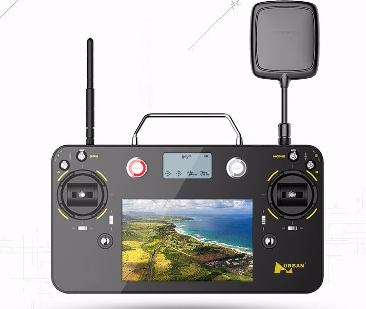 HUbsan H7000 Transmitter remote contrller for Hubsan X4 pro H109S drone spare parts accessories (include battery)