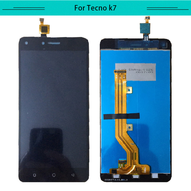 3PCS For Tecno Spark K7 LCD Display Assembly Complete Digitizer with touch  Screen Free Shipping