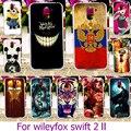 Plástico macio tpu phone case para wileyfox x50 wileyfox swift 2 swift2 plus 5.0 polegada case cat capa shell pele habitação de volta cobrir