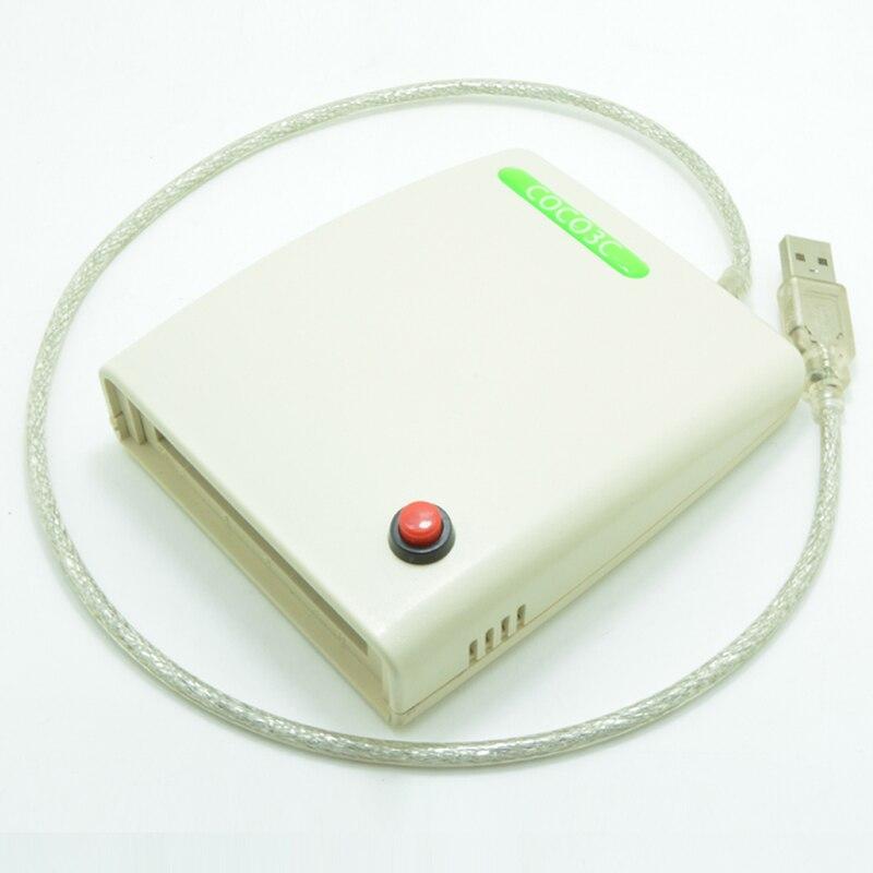 цены на ATA PCMCIA Memory Card Adapter PC Card Reader 68PIN CardBus To USB 2.0 Adapter with the switch and enclosure в интернет-магазинах