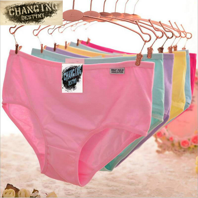 54efbe029e Fashion Sexy Women s Cotton Underwears Women s Briefs Ladies Panties  Breathable Underpants Girls Knickers for Female M XL free shipping worldwide