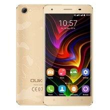 Oukitel C5 Pro 4 г 5.0 дюймов смартфон Android 6.0 MTK6737 4 ядра 1.3 ГГц телефона 2 ГБ + 16 ГБ две камеры 1280×720 мобильный телефон