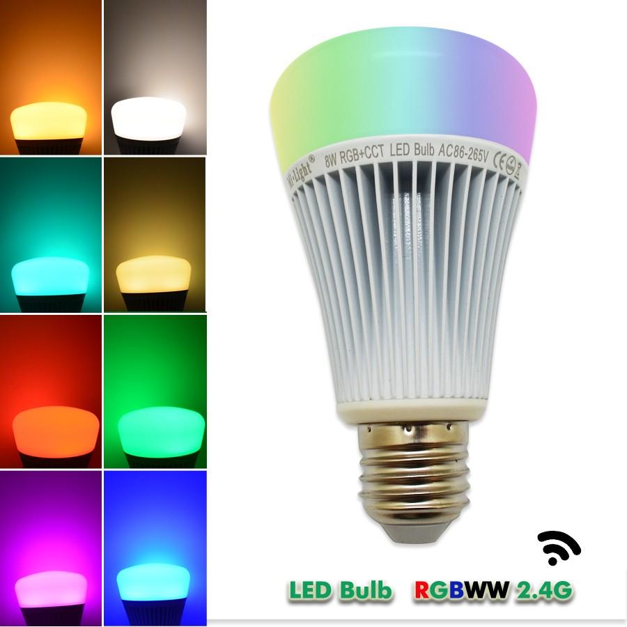 RGBWW 8W LED BULB15
