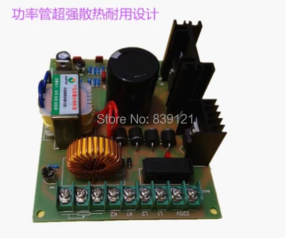 High power 220V DC 1000w DC motor spindle motor speed controller board take potentiometer цена