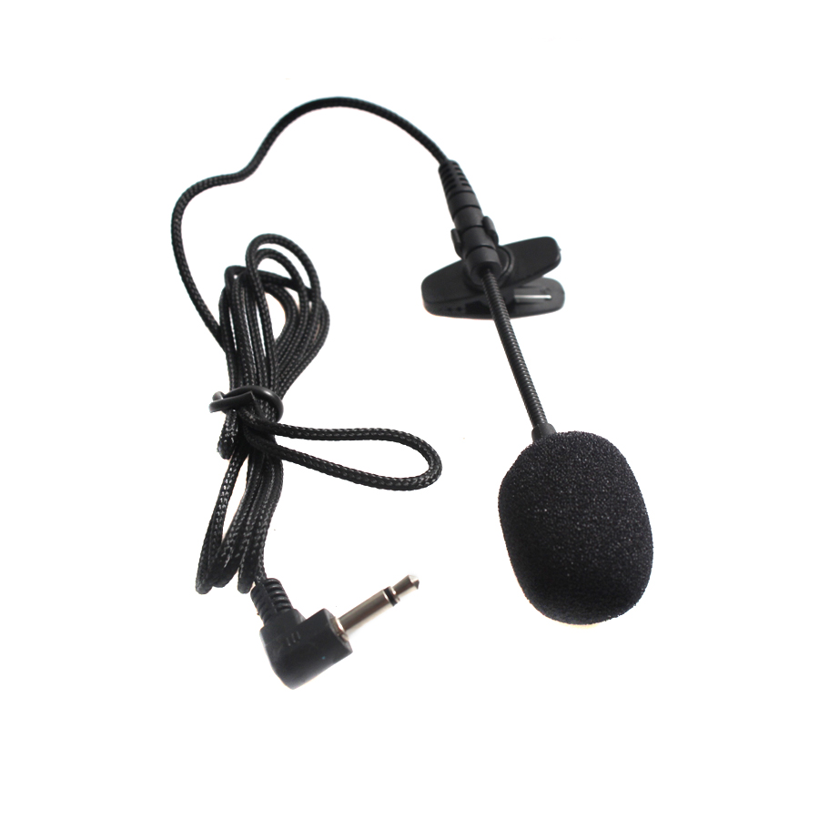 3.5mm Jack Handsfree Speeching Microphone Portable Long Lavalier Clip Microphone For Lecture Teaching Conference Guide