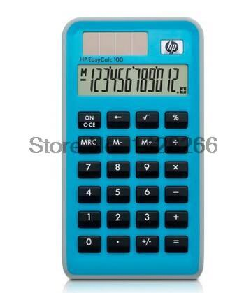 One Piece HP EasyCalc 100 General Calculator Portable Office Calculator