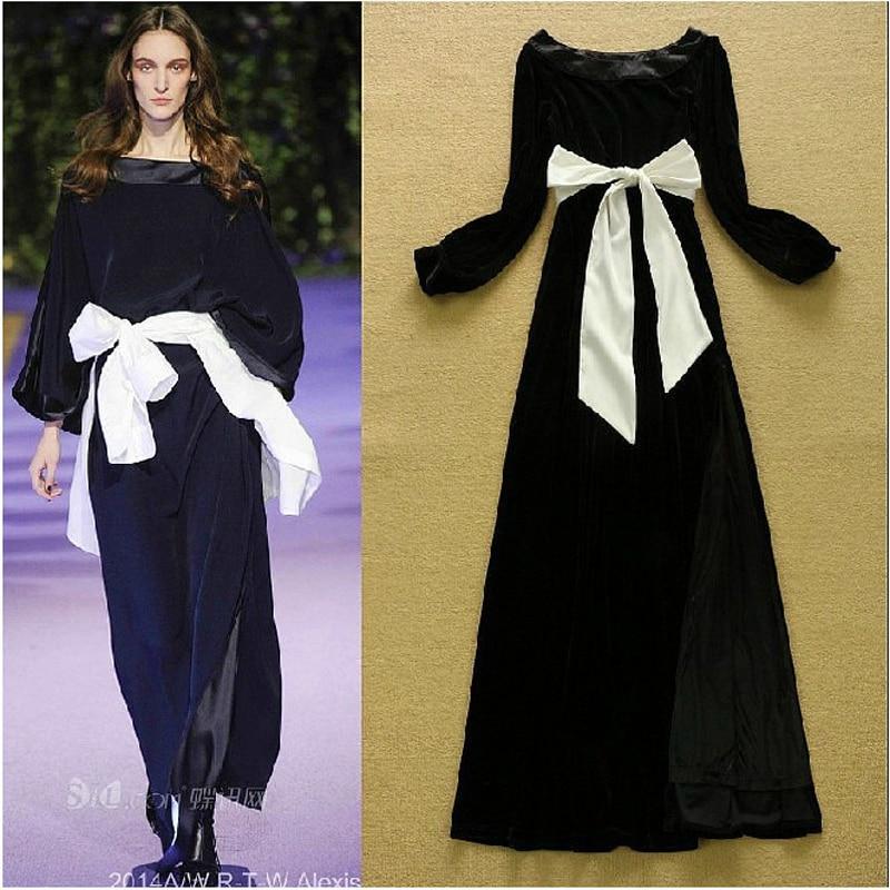 Online Buy Wholesale velvet maxi dress from China velvet maxi ...