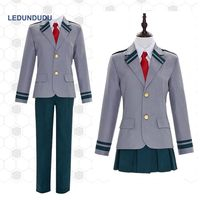 Boku no Hero Academia School Uniform My Hero Academia Women OCHACO URARAKA Men Todoroki Shoto Midoriya Izuku Cosplay Costume