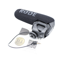 Interview Rycote shockmout Rode Videomic PRO SLR camera directional microphone compact Microphone for canon nikon sony dslr