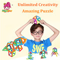 Mylitdear niños juguetes 32 unids enlighten bricks educativos magnética juguete de diseño cuadrado triángulo hexagonal 3d diy bloques de construcción