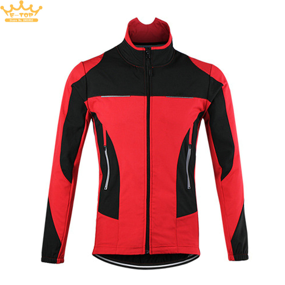 ARSUXEO Thermal Cycling Jacket Bicycle Winter Warm Up Sports Windproof Waterproof MTB Bike Jersey цена