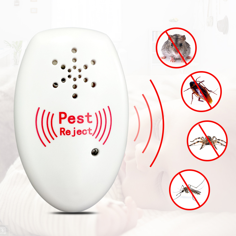 JXSFLYE Ultrasonic Plug in Pest Control, Electric Mouse Repellent Mosquito, Mice, Rat, Roach, Spider Flea, Ant, Fly, Bed BugsJXSFLYE Ultrasonic Plug in Pest Control, Electric Mouse Repellent Mosquito, Mice, Rat, Roach, Spider Flea, Ant, Fly, Bed Bugs
