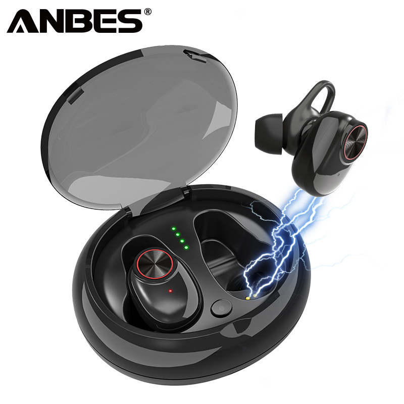 ANBES Mini V4.2 Bluetooth Earphones TWS Bluetooth Headphones Wireless Earphone Sport Earbuds Headset PK i12 TWS for iphone