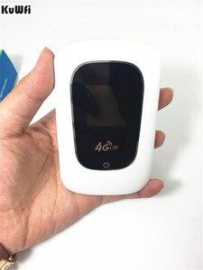 Image 5 - مصغرة مقفلة 4G LTE اللاسلكية موزع إنترنت واي فاي 100 Mbps المحمول واي فاي الساخنة المحمولة 3G 4G مودم شبكة Wifi جهاز توجيه ببطاقة SIM فتحة